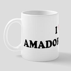 I Love AMADOR CITY Mug