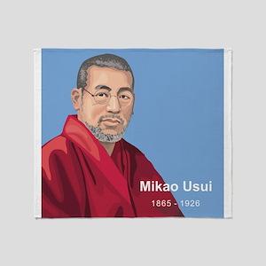 Mikao Usui Reiki, Throw Blanket