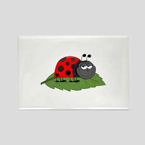 Ladybug Rectangle Magnet