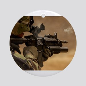 Colt M4 carbine Ornament (Round)