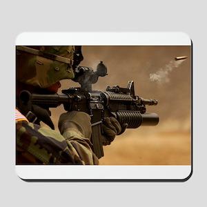 Colt M4 carbine Mousepad
