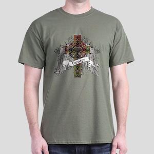 Hunter Tartan Cross Dark T-Shirt