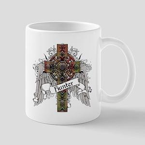 Hunter Tartan Cross Mug