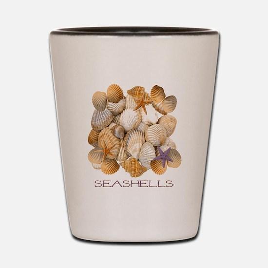 Seashells 2 Shot Glass