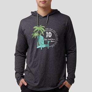 Chi Phi Beach Mens Hooded Shirt