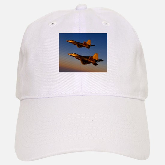 Two F/A-22 Raptors. Baseball Baseball Cap