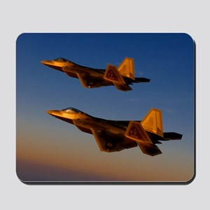 Two F/A-22 Raptors. Mousepad