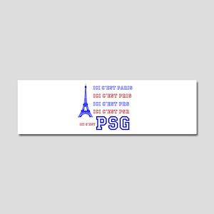 Ici cest PSG Car Magnet 10 x 3