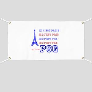 Ici cest PSG Banner