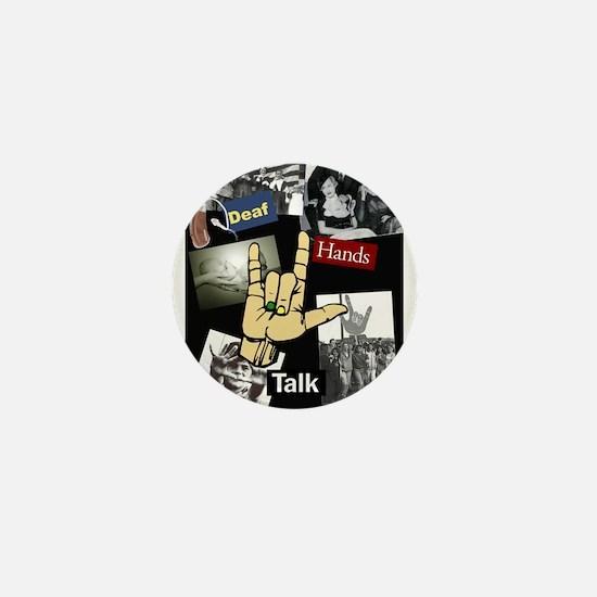 DEAF TALKIES copy.jpg Mini Button