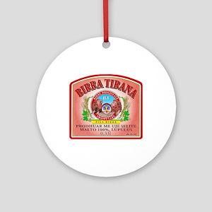 Albania Beer Label 3 Ornament (Round)