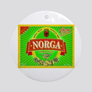 Albania Beer Label 2 Ornament (Round)