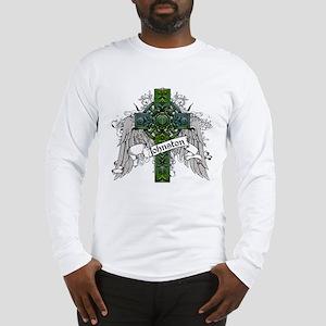 Johnston Tartan Cross Long Sleeve T-Shirt