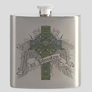 Johnston Tartan Cross Flask