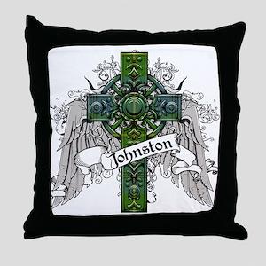 Johnston Tartan Cross Throw Pillow