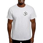Aum / Om Symbol Ash Grey T-Shirt