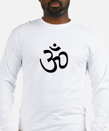 Aum / Om Symbol Long Sleeve T-Shirt