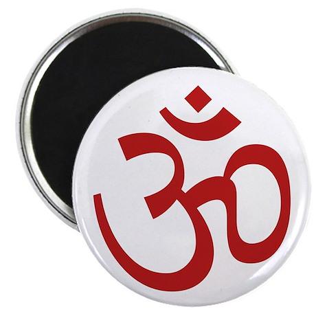 """Aum / Om Symbol 2.25"""" Magnet (10 pack)"""