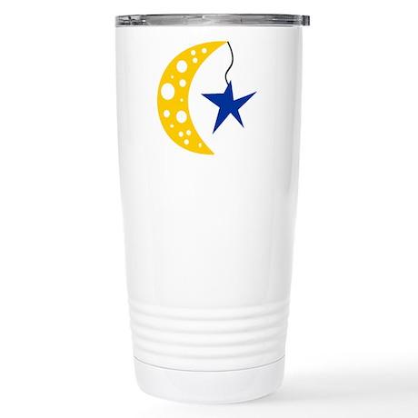 Moon Stainless Steel Travel Mug