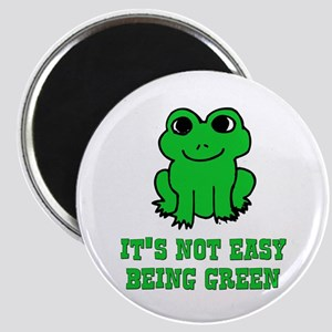 Not Easy Being Green Frog Magnet