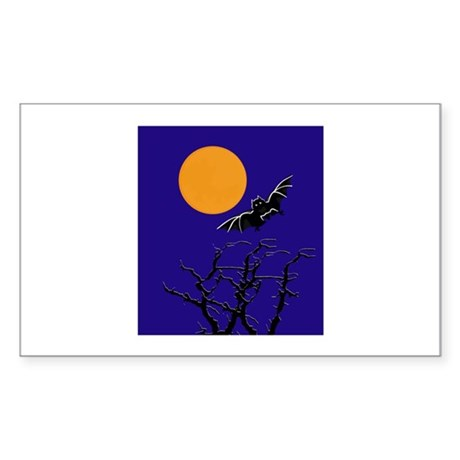 Moon Sticker (Rectangle)