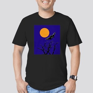 Moon Men's Fitted T-Shirt (dark)