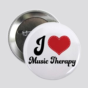 """I Heart Music Therapy 2.25"""" Button"""
