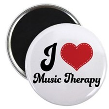 I Heart Music Therapy Magnet