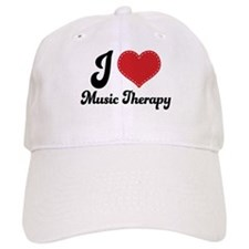 I Heart Music Therapy Cap