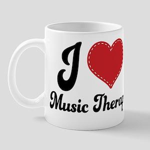 I Heart Music Therapy Mug