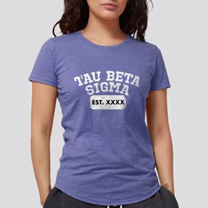 Tau Beta Sigma Athletic Womens Tri-blend T-Shirt