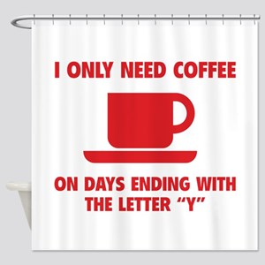 Coffee Shower Curtain
