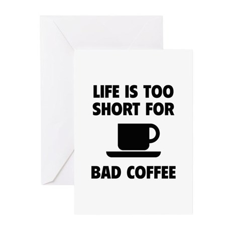 Coffee Greeting Cards (Pk of 20)