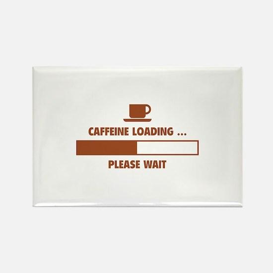 Caffeine Loading ... Please Wait Rectangle Magnet