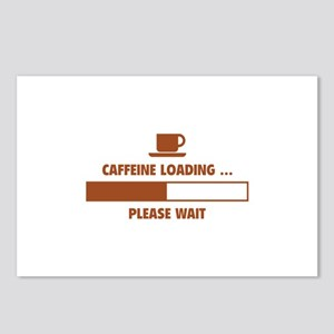 Caffeine Loading ... Please Wait Postcards (Packag