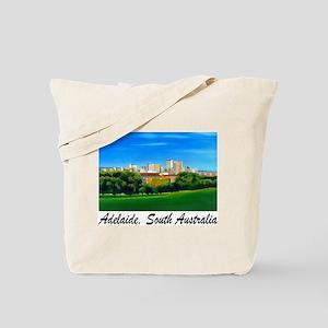 Adelaide City Skyline Tote Bag