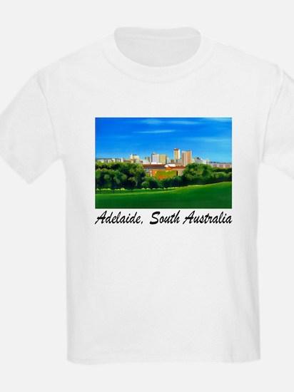 Adelaide City Skyline Kids T-Shirt