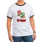 Girl Magnet Kids Shirt Ringer T