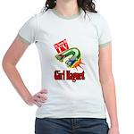 Girl Magnet Kids Shirt Jr. Ringer T-Shirt