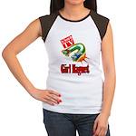 Girl Magnet Kids Shirt Women's Cap Sleeve T-Shirt