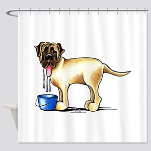 Mastiff Drool Shower Curtain