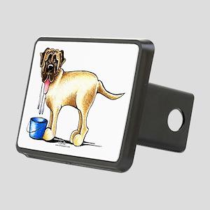Mastiff Drool Rectangular Hitch Cover