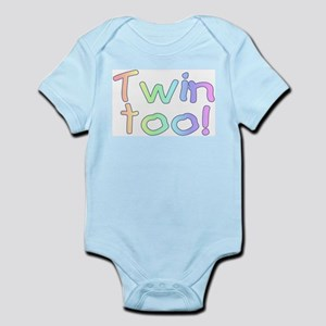 """""""Baby Twin 1 & Too"""" Infant Creeper"""