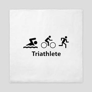 Triathlete Queen Duvet