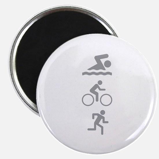 Triathlete Magnet