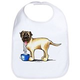 Bull mastiff Cotton Bibs