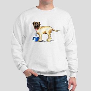 Mastiff Drool Sweatshirt