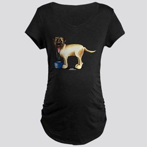 Mastiff Drool Maternity Dark T-Shirt