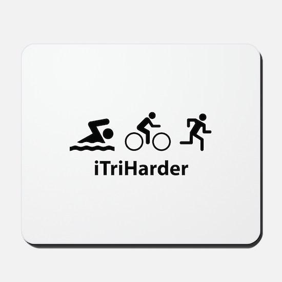 iTriHarder Mousepad