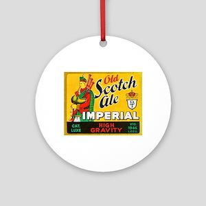 Belgium Beer Label 11 Ornament (Round)